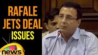 Randeep Surjewala's Speech on Rafale Deal | Rafale Jets Deal Issues | Mango News - MANGONEWS