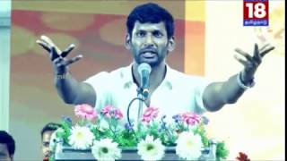 Actor Vishal angry speech in General Body Meeting
