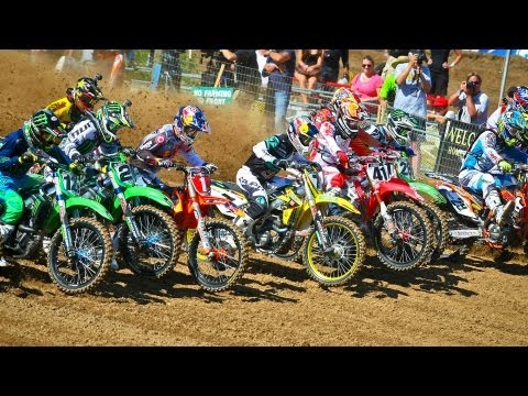 2013 Red Bull Hangtown Motocross Classic Highlights