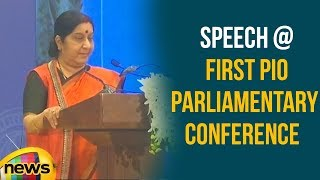 Sushma Swaraj Speech At First PIO Parliamentary Conference | Mango News - MANGONEWS