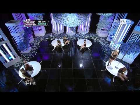 130613 After School - Intro + First Love @ M!Countdown [1080p]