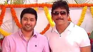 Nagarjuna, Rakul Preet Singh, Rahul Ravindran 'Manmandhudu 2' launch - idlebrain.com - IDLEBRAINLIVE