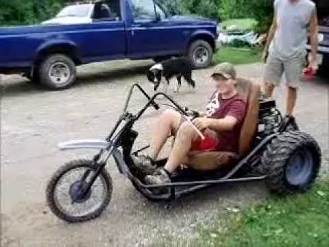 Homemade Dirt Trike