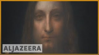 🖼️ Where is Salvator Mundi, da Vinci's painting that sold for $450m? | Al Jazeera English - ALJAZEERAENGLISH