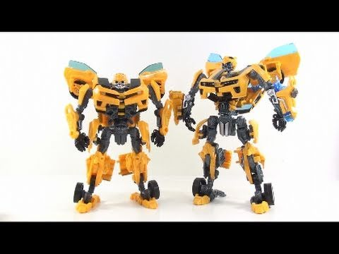 Video Review of the Transformers Dark of the Moon; Deluxe Class Bumblebee