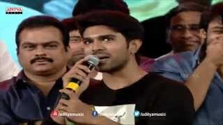 Ram Charan Speech At Govindudu Andarivadele Audio Launch - ADITYAMUSIC