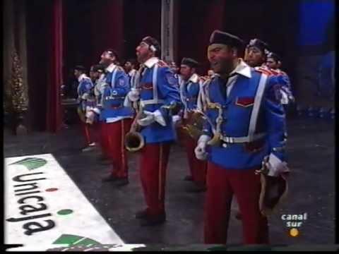 Sesión de Final, la agrupación Banda de música de Cagarrutas del Monte actúa hoy en la modalidad de Chirigotas.