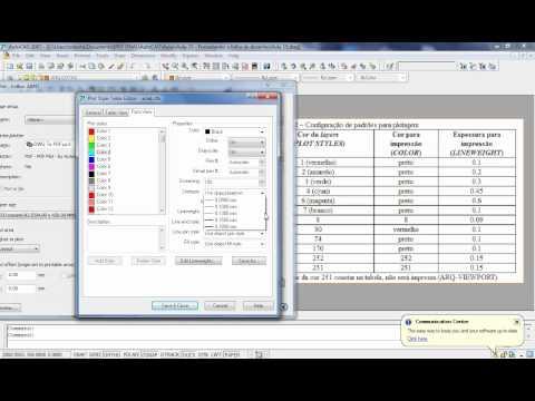 AutoCAD Aula 16: Plotando e imprimindo desenhos a partir de arquivos PDF (PLOT)