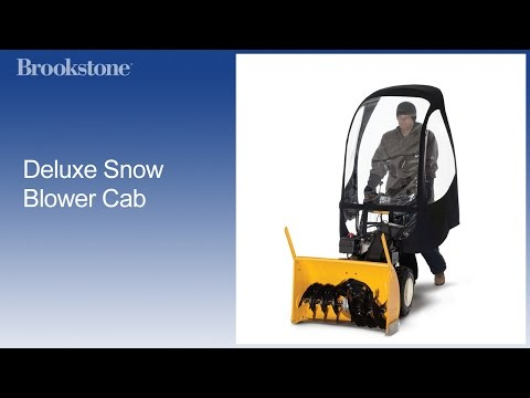 Overview: Deluxe Snow Blower Cab