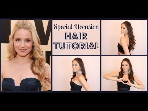 Special Occasion Hair Tutorial Inspired by Dianna Agron | Blair Fowler