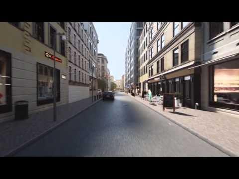 Application et capteur pour éviter les collisions avec les cyclistes By Volvo Cars