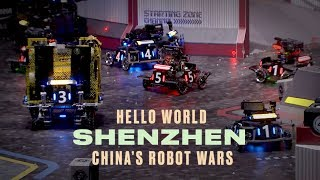 China's High-Stakes Robot Wars | Hello World Shenzhen: Part Two - BLOOMBERG