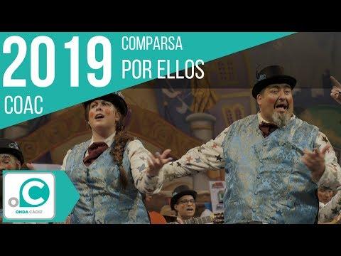 La agrupación Por ellos llega al COAC 2019 en la modalidad de Comparsas. Primera actuación de la agrupación para esta modalidad.