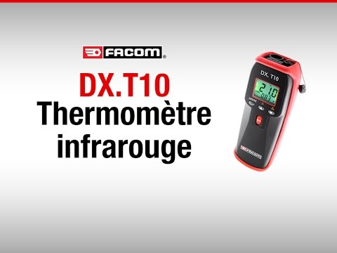 DX.T10 Thermomètre infrarouge mixte Facom - Combined infrared thermometer