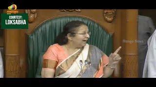 Sumitra Mahajan Serious On Mallikarjun Kharge Amid Ruckus Over Suspension of MPs | Mango News - MANGONEWS