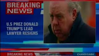 US President Donald Trump's lead lawyer John Dowd resigns - NEWSXLIVE