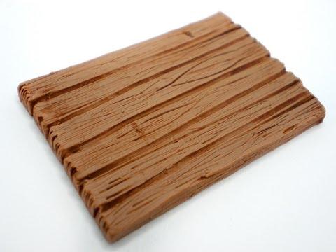 Имитация текстуры деревянной доски, видео урок