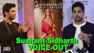 Sushant, Sidharth, Chetan Bhagat  joins Padmavati Row - BOLLYWOODCOUNTRY