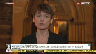 Yvette Cooper MP On Immigration Reform - SKYNEWS