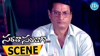 Sarada Saradaga Movie Scenes - Sunil Comedy || Rajendra Prasad || Srikanth || Siva Balaji - IDREAMMOVIES