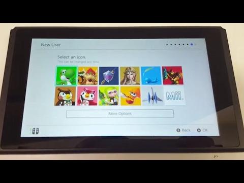 Nintendo Switch OS Leak video