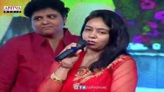 MM Sreelekha Speach & Performance @Abbai to Ammai Audio launch    Naga Shourya,Palak Lalwani - ADITYAMUSIC