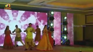 TDP MP Rammohan Naidu Pre Wedding Ceremony, MP Dances for Jr.NTR's Song | Mango News - MANGONEWS