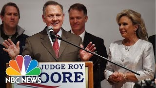 Roy Moore Looks To Recount, Tells Supporters 'It's Not Over' | NBC News - NBCNEWS
