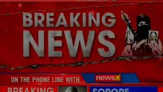Terrorists attack police party in Sopore; no loss of life reported till yet - NEWSXLIVE