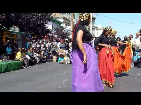 Sudanese Dance at 19th and Mission (Part Two)