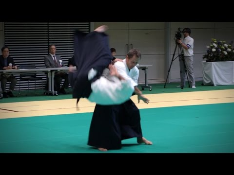 Christian Tissier - Aikido Demonstration - 12th IAF Congress (2016)