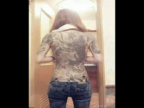 Hình xăm cá chép hóa rồng - CARP tattoos