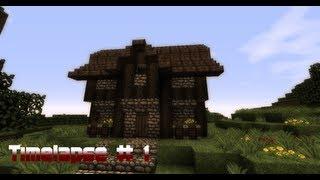 Minecraft Timelapse Kleines Mittelalterliches Haus HD YouTube - Minecraft kleine mittelalter hauser