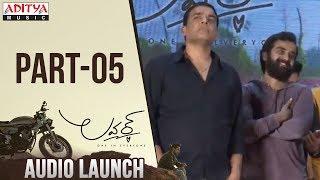 Lover Audio Launch Part 05 | Raj Tarun, Riddhi Kumar|Anish Krishna|Dil Raju - ADITYAMUSIC