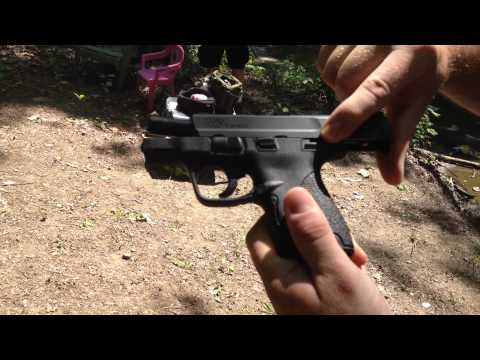 S&W 9mm M&P Shield Single Stack Extended Magazine Tip