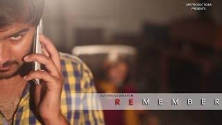 Remember - New Telugu Reverse Screenplay  Short Film by Vennela Kumar - YOUTUBE