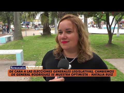 De cara a las elecciones generales legislativas, Cambiemos de General Rodríguez se muestra optimista