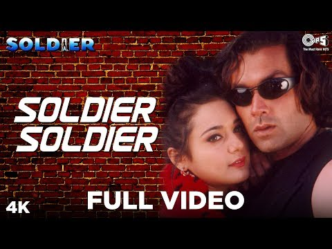 Soldier (Bobby Deol & Preity Zinta) - Soldier Soldier (Full Song) HD