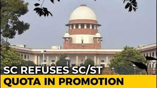 Supreme Court Refuses To Review Its Order On Quota In Job Promotions - NDTV