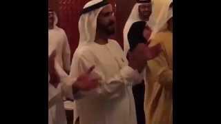 أمراء الإمارات يحتفلون بفوز منتخب بلادهم على قطر 4-1
