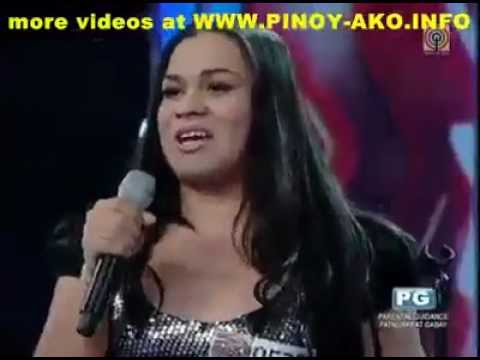 Pinoy Talent Show Shemale Rocks Boombastic.