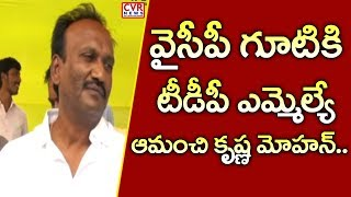 MLA Amanchi Krishna Mohan Resign to TDP | Likely to Join YSRCP | Chirala | CVR NEWS - CVRNEWSOFFICIAL