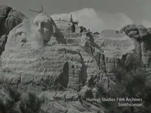 Construction of Mount Rushmore National Memorial from the Smithsonian&#8217;s Human Studies Film Archives