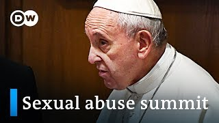 Vatican opens landmark sex abuse summit | DW News - DEUTSCHEWELLEENGLISH