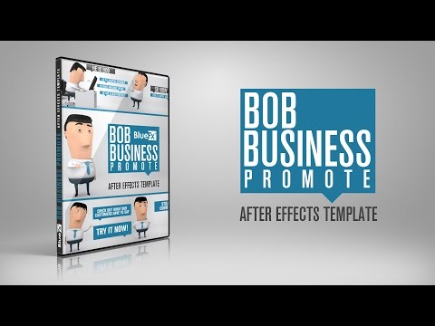 After Effects Templates, Bob Business Promoter, ae project