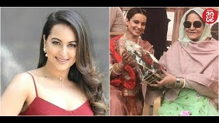 Sonakshi's 'Happy Phirr Bhaag Jaayegi' Release Date Out | Kangana Meets The Queen Of Bikaner - ZOOMDEKHO