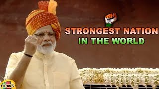 When We Launched A Surgical Strike, The World Had To Admit The Strength of Our Nation: PM Modi - MANGONEWS