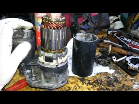 Guia para reparação de um motor de arranque - Ford Fiesta