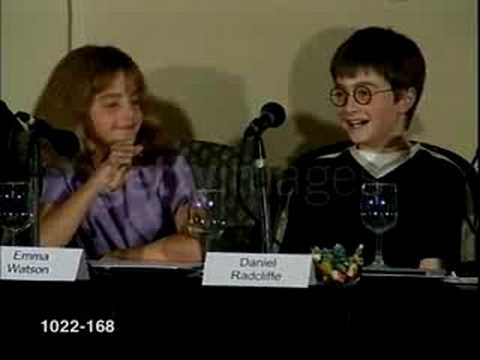 Emma Watson:Harry Potter Casting Announcement [23-8-00]