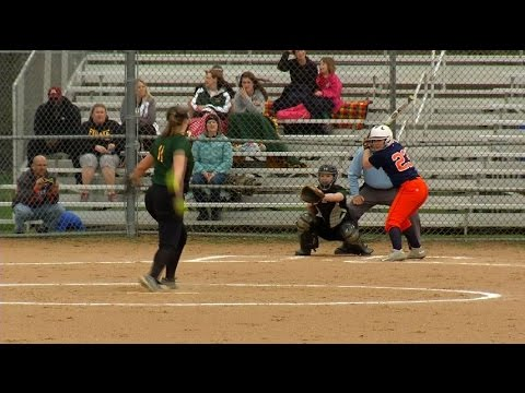 Pirates get first softball win